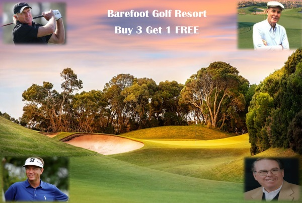 Barefoot Resort Golf Package-Buy 3 Get 1 FREE