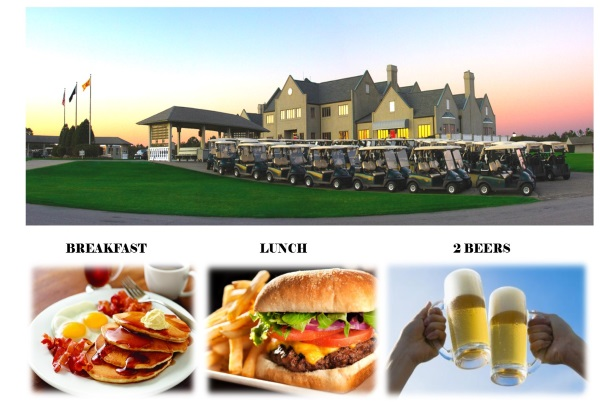 Legends Golf Vacation Package – Meal Deal