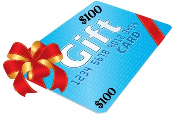 $100 Gift Card-600x403